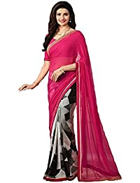 Sarees ( Sarees For Women Party Wear Offer Designer Sarees Below 500 Rupees Sarees For Women Latest Design Sarees... - B075WCMPFM