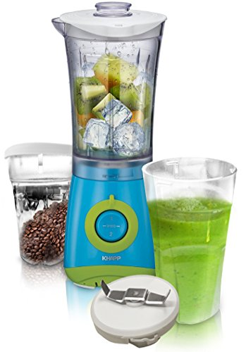 KHAPP - All in One Mixer Ice Crusher Smoothie 2 Go Cup inkl. Kaffemahlwerk