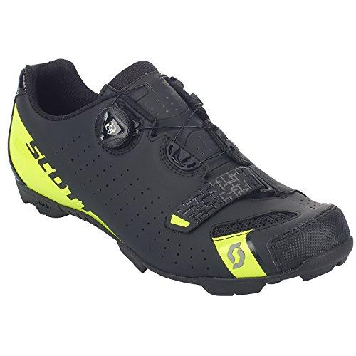 Scott Scott MTB Comp Boa Fahrrad Schuhe schwarz/gelb 2018: Größe: 46