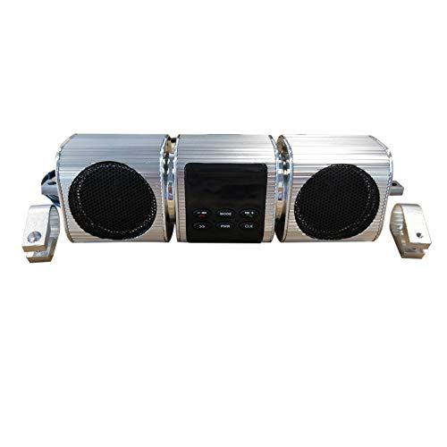 YGQersh Moto Bluetooth Reproductor de música a Prueba de Agua Altavoz Radio...