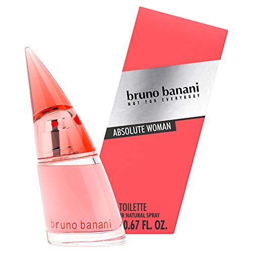 bruno banani Absolute Woman Eau de Toilette Natural Spray, 20 ml