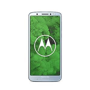 Motorola Moto g6 Plus Smartphone (14,986 cm (5,9 Zoll), 4 GB RAM/64 GB, Android) Nimbus