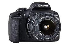 Idea Regalo - Canon EOS 2000D + EF-S 18 - 55 mm IS II Fotocamera Reflex, Sensore APS-C da 24.1 megapixe, Nero