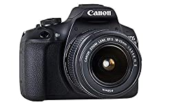 Canon EOS 2000D Spiegelreflexkamera (24,1 MP, DIGIC 4+, 7,5 cm (3,0 Zoll) LCD, Display, Full-HD, WIFI, APS-C CMOS-Sensor) mit Objektiv EF-S 18-55 IS II Kit schwarz