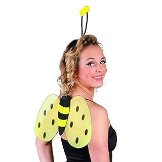 Boland 52852-Costume d'abeille avec Serre-tête à antennes et Ailes