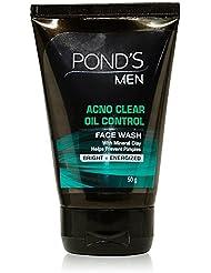 POND'S Men Oil Control Face Wash, 50g