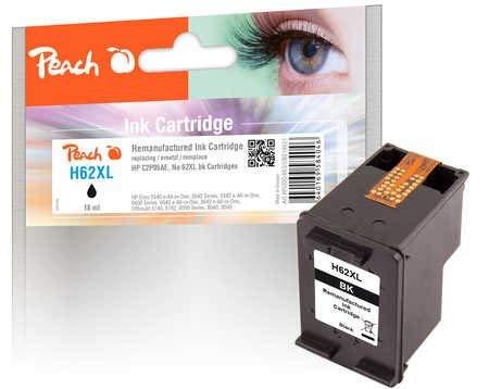 Peach cabezal impresión Negro Compatible HP No. 62x