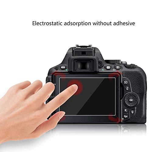 YUnnuopromi 9H temperierter Glasfilm HD-Kamera-Bildschirmschutz-Abdeckung für Canon 6D 650d 1200D for Canon G7X/G9X/G5X