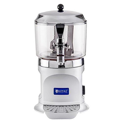 Royal Catering - RCSS-5 - Dispensador de chocolate - 5 Litros - 1000 watt - Envío Gratuito