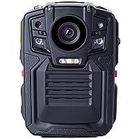 Angin-Tech Cam102 visión nocturna infrarroja 1080P HD Cuerpo de Policía Worn cámara de vídeo de la seguridad del IR Cam construido en la tarjeta GPS Ayuda de detección de movimiento + 32GB TF (Incluye 32 GB TF tarjeta)