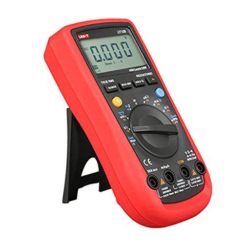 Laileya UNI-T UT107 Multímetro automotriz batería de pruebas digitales de mano Herramientas para servicio LCD Tester Relación de Medición