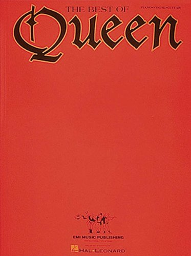 The Best Of Queen Songbook Piano Vocal Guitar