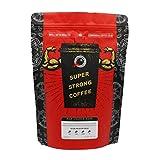 Maximum Charge Dark 500g: Lab Certified World's Strongest Coffee | High Caffeine Coffee from Robusta Coffee Beans | Dark Roast | 500g (Beans)