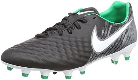 Nike Herren Magista Onda II FG Fußballschuhe, Schwarz (Black/White/Dark Grey/Stadium Green), 44.5