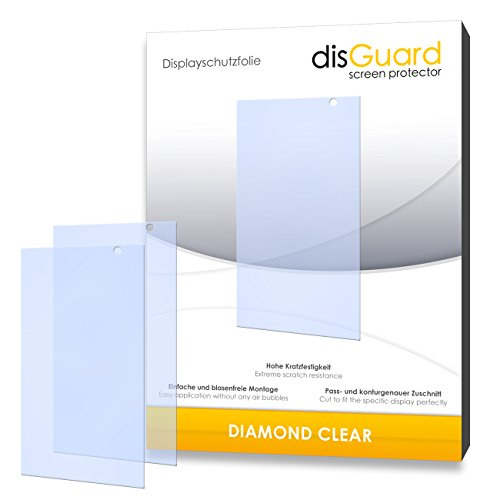 3 x disGuard® Schutzfolie Hisense HS-U980BE-2 Bildschirmschutz Folie
