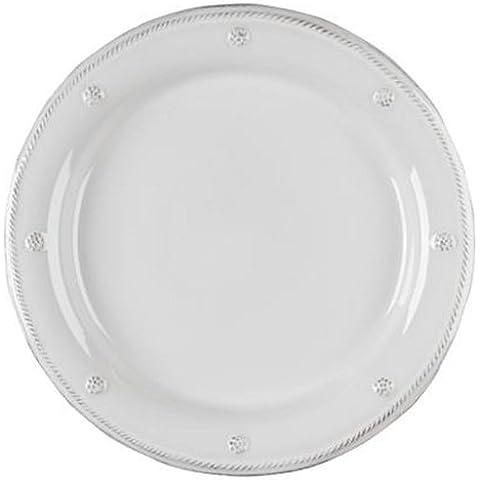 Juliska Berry and Thread Whitewash Round Dinner Plate by