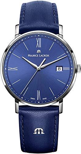 Maurice Lacroix Eliros EL1087-SS001-410-1 Reloj de Pulsera para hombres Plano & ligero