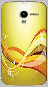 Timpax protective Armor Hard Bumper Back Case Cover. Multicolor printed on 3 Dimensional case with latest & finest graphic design art. Compatible with only Motorola Moto - X-1- 1st Gen. Design No :TDZ-20333