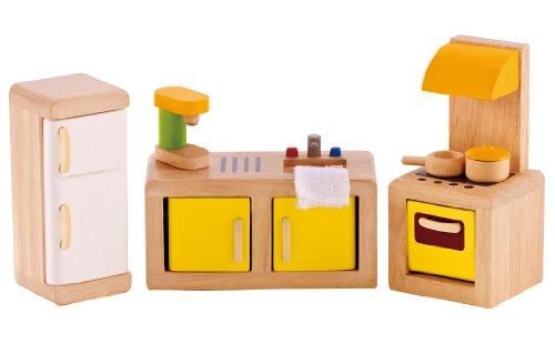 Hape E3453 - Küche gelb/weiß
