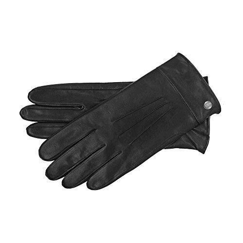 Roeckl Damen Handschuhe 13011-590, Schwarz (Black 000), 8.5 (Herstellergröße: 8,5)