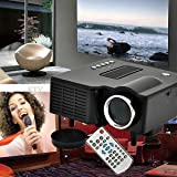 SLB Works Brand New 3000 Lumen 1080P HD Home Theater Multimedia LED Projector