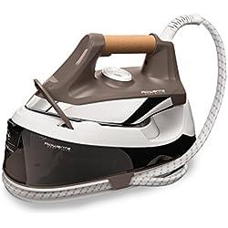 Rowenta Easy Steam VR7260F0 - Centro de planchado de 5,5 bares de presión de agua, golpe de vapor de 210 g/min, vapor continuo de 100 g/min, depósito de 1,2 L y Modo Eco