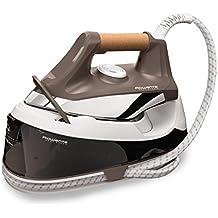 Rowenta Easy Steam VR7260F0 - Centro de planchado de alta presión de 5,5 bares, suela airglide con golpe de vapor de 210 g/min, depósito de agua de 1,2 L, modo ahorro de energía