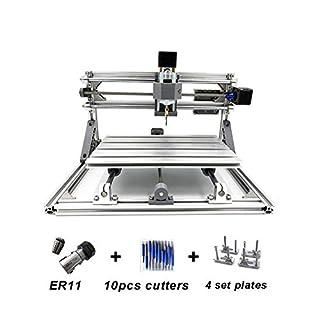 DIY CNC Fräsmaschine, Arbeitsbereich: 240 * 170 * 45mm, 3 Achse Router Maschine Holz PCB Acryl Fräsmaschine Metall Gravur Carving USB Graviermaschine