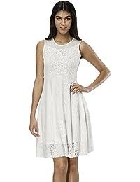 Amazon.it  Vestiti In Pizzo Bianco - Vestiti   Donna  Abbigliamento f88b4de9b89