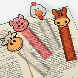 41kvCfHb3hL UK BEST BUY #1Pack of 12   Farm Ruler Bookmarks   Great Party Loot Bag Fillers price Reviews uk