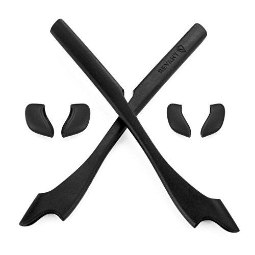 Revant MaxGrip® Gummiset für Oakley Half Jacket 2.0 - Schwarz Schwarz Half Jacket
