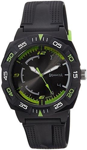 41kvEWd%2BZGL - Sonata 77008PP01J Mens watch