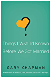 Things I Wish I'd Known Before We Got Married