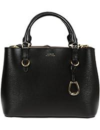 Ralph Lauren Women\u0027s 431693831001 Black Leather Handbag