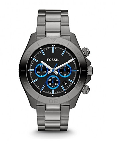 Fossil Retro Traveler Chronograph Black Dial Men\'s Watch - CH2869