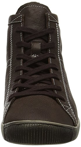 Softinos Isleen Smooth, Sneaker Donna Brown (dk Brown)
