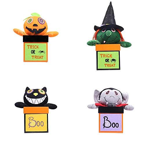 LXY Kreativer Halloween-Papier-Süßigkeitskasten Personalisiert und Praktisch -