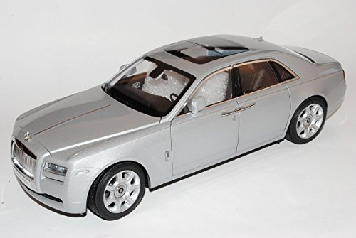 rolls-royce-ghost-2011-silber-1-18-kyosho-modell-auto