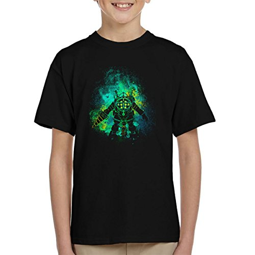Rapture Art Big Daddy Little Sister Bio Shock Kid's T-Shirt