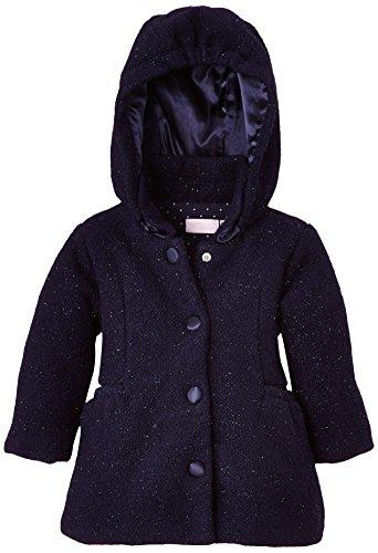 Chicco Manteau - Abrigo para niñas, Azul (Azul Foncé), 80 ( 12 meses)