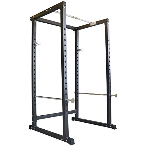 TrainHard Power Rack Kraftstation Hantel Käfig Squat Multipresse Fitnessstation