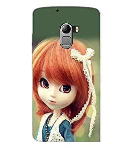 PrintDhaba Cute Doll D-1018 Back Case Cover for LENOVO K4 NOTE A7010a48 (Multi-Coloured)