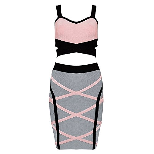 alice-elmer-womens-sleeveless-skirt-set-2-piece-cocktail-bandage-vestido-l