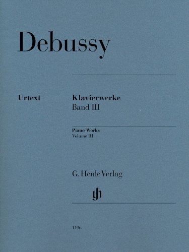 Oeuvres pour Piano, Volume 3
