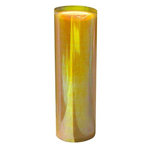 Merssavo 60*30cm Wasserdicht Auto Scheinwerfer Folie Tönungsfolie für KFZ Scheinwerfer Rückleuchten Nebelscheinwerfer, Gold