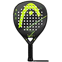 Head Flash Pala de pádel de Tenis, Hombre, Negro/Verde, ...