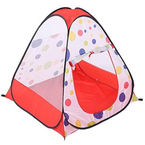 DLJAC 2-Person Jugend Licht Easy Up Kinder Spielen Zelt for Indoor, Outdoor, Camping -