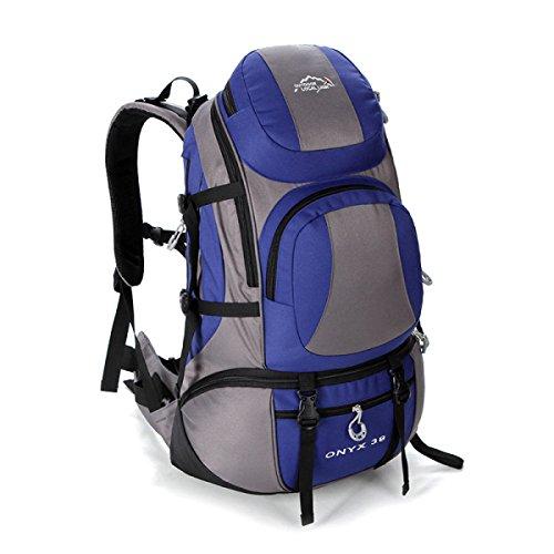 Outdoor Reise Rucksack Mode Bergsteigen Tasche Für Männer Frauen Blue