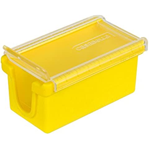 Casabella West Coast Butter Keep and Slice, Yellow by Casabella