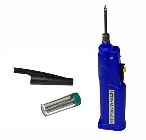 Modellbau Eibl® Lötkolben Batteriebetrieben mit Lötzinn 8w 4,5V - Ideal für den Modellbau und für Elektronik Anwendungen